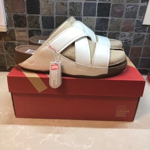 Fitflop Shoes - Fitflop Chi Urban White B08-194-110 Size 12